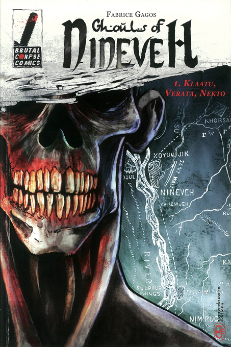 Couverture Ghouls of Nineveh