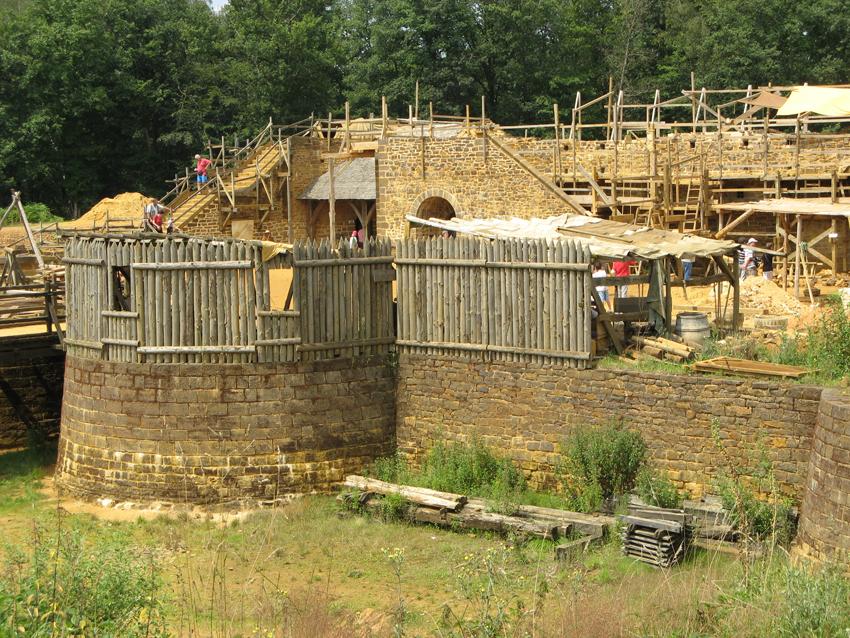 Guedelon 2007