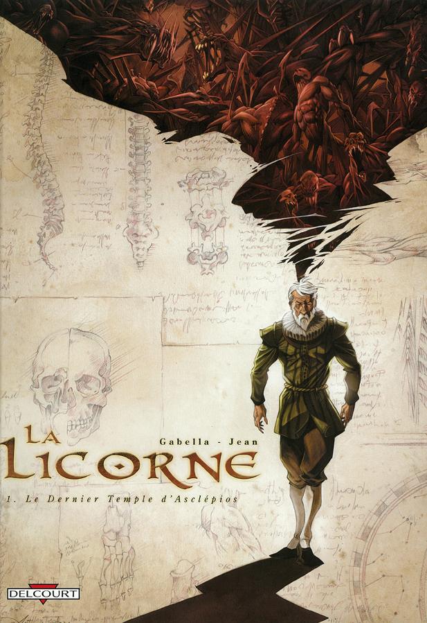 Couv La Licorne T1